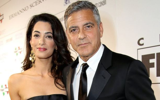 Amal-Alamuddin-and-George-Clooney-attend-the-Celebrity-Fight-Night-gala-celebrating-Celebrity-Fight-Night-In-Italy